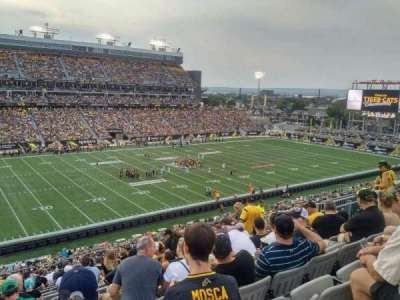 Tim Hortons Field, section: 218, row: 15, seat: 16f