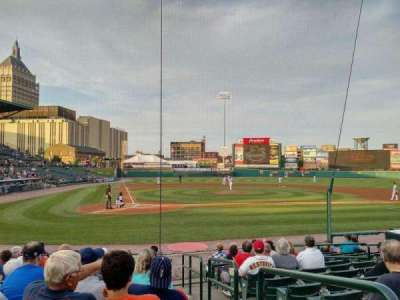 Frontier Field, section: 112, row: M, seat: 9