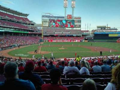 Great American Ball Park, section: 127, row: HH, seat: 8