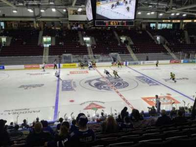 Hershey Centre, section: 20, row: Q, seat: 9