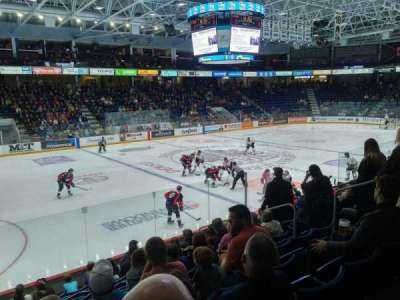 Sleeman Centre, section: 113, row: 10, seat: 10