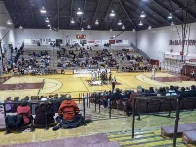 Burridge Gymnasium, section: GA