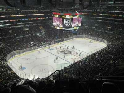 Staples Center, section: 322, row: 7, seat: 3