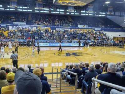 Memorial Athletic and Convocation Center, section: B, row: J, seat: 40
