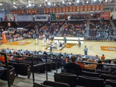 Stroh Center, section: 102, row: N, seat: 2