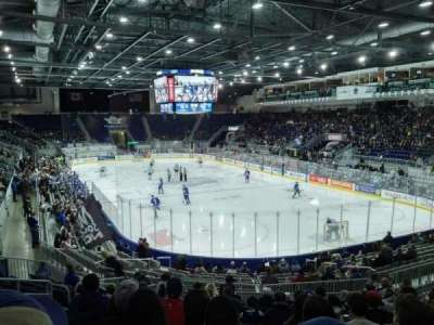 Ricoh Coliseum, section: 116, row: N, seat: 21
