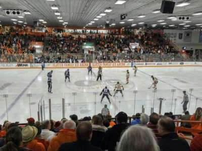 Slater Family Ice Arena, section: C, row: 14, seat: 13
