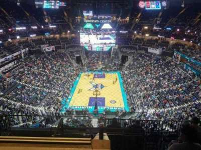 Spectrum Center, section: 233, row: J, seat: 21