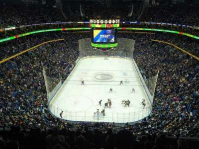 KeyBank Center, section: 327, row: 9, seat: 7