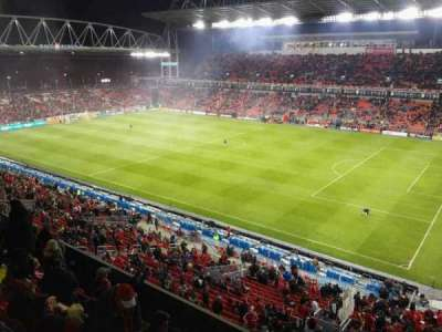 BMO Field, section: 207, row: 28, seat: 15