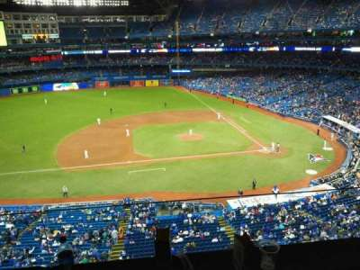 Rogers Centre, section: Suite 469, row: B, seat: 2