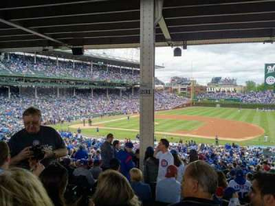 Wrigley Field, section: 231, row: 14, seat: 4