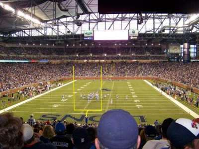 Ford Field, section: 138, row: 42, seat: 12