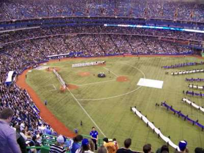Rogers Centre, section: 511R, row: 16, seat: 1