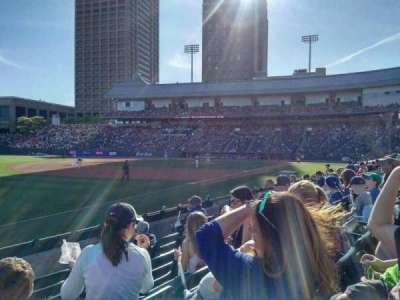 Coca-Cola Field, section: 119, row: H, seat: 15