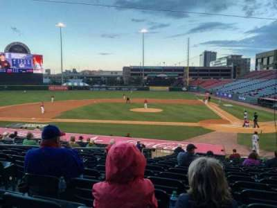 Coca-Cola Field, section: 109, row: S, seat: 9