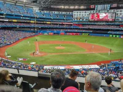 Rogers Centre, section: 220L, row: C, seat: 108
