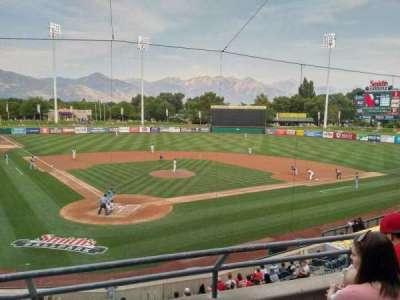 Smith's Ballpark, section: 108, row: 3, seat: 7