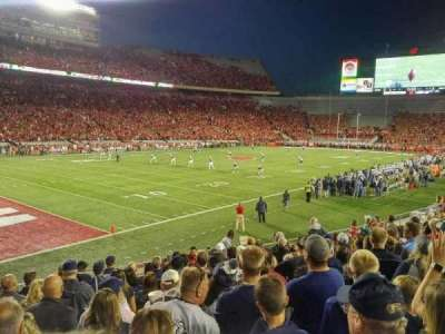 Camp Randall Stadium, section: X, row: 23, seat: 15