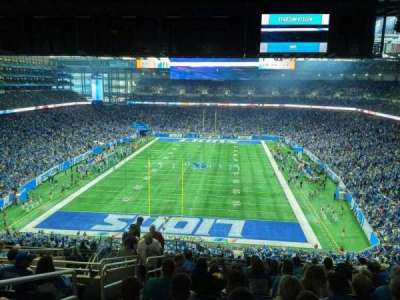 Ford Field, section: 319, row: 13, seat: 3