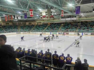 Waterloo Memorial Recreation Complex, section: 3, row: H, seat: 3
