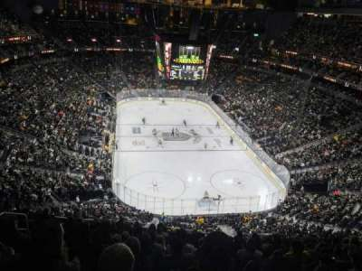 T-Mobile Arena, section: 213, row: M, seat: 7