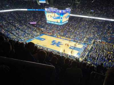 Rupp Arena, section: 211, row: BB, seat: 11