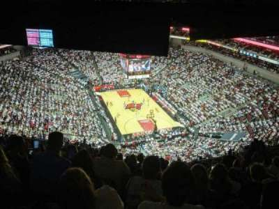 KFC Yum! Center, section: 302, row: U, seat: 15