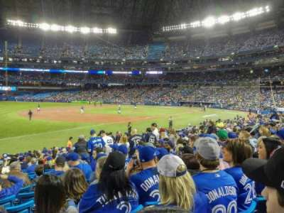 Rogers Centre, section: 130BR, row: 22, seat: 10