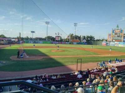 Whitaker Bank Ballpark, section: 204, row: 5, seat: 1