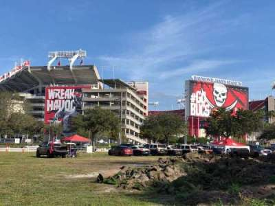 Raymond James Stadium, section: Exterior