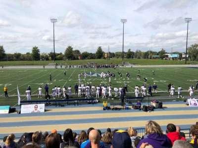 Alumni Field at University of Windsor Stadium, section: F, row: JJ, seat: 5