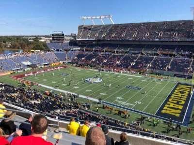 Camping World Stadium, section: 229, row: J, seat: 11