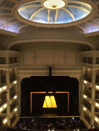 Bass Performance Hall, section: Upper Gallery Center, row: H , seat: 7