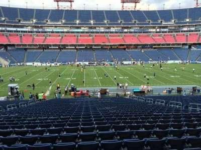 Nissan Stadium, section: 136, row: LL, seat: 13