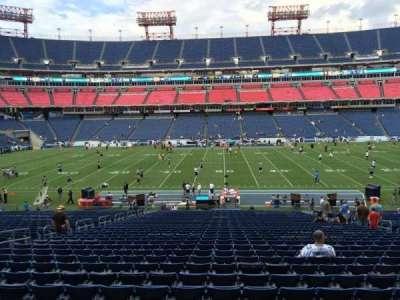 Nissan Stadium, section: 135, row: LL, seat: 13