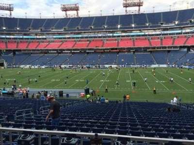 Nissan Stadium, section: 133, row: HH, seat: 10