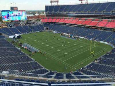 Nissan Stadium, section: 327, row: K, seat: 5