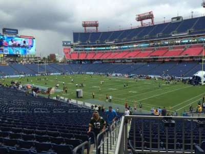 Nissan Stadium, section: 106, row: HH, seat: 14