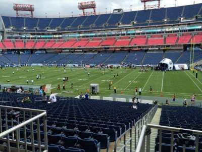 Nissan Stadium, section: 108, row: HH, seat: 16