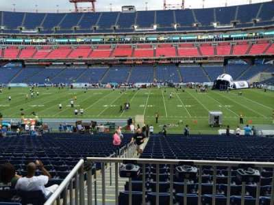 Nissan Stadium, section: 110, row: HH, seat: 16