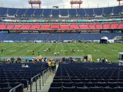 Nissan Stadium, section: 112, row: LL, seat: 21