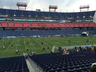 Nissan Stadium, section: 115, row: HH, seat: 3