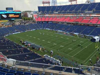 Nissan Stadium, section: 305, row: K, seat: 3