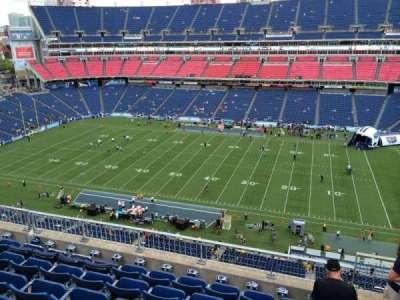 Nissan Stadium, section: 309, row: G, seat: 3
