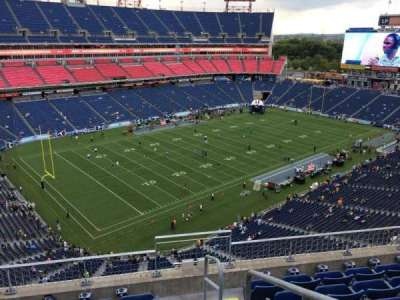 Nissan Stadium, section: 319, row: F, seat: 1