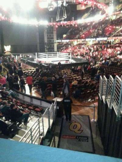 Quicken Loans Arena, section: 131, row: 9, seat: 1