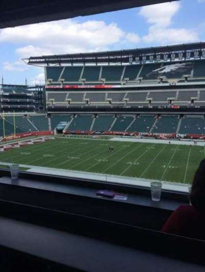 Lincoln Financial Field, section: Presidential Suite