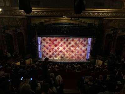 Brooks Atkinson Theatre, section: Rear Mezzanine RC, row: L, seat: 116