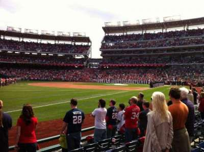 Nationals Park section 110